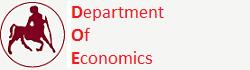 Τμήμα Οικονομικών Επιστημών - Βόλος - Πανεπιστήμιο Θεσσαλίας